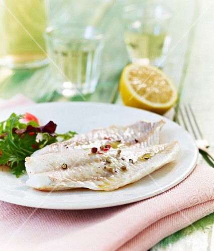 Cod fillets with mixed spices