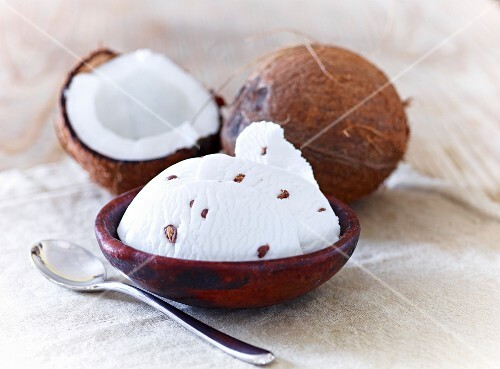 Iced coconut