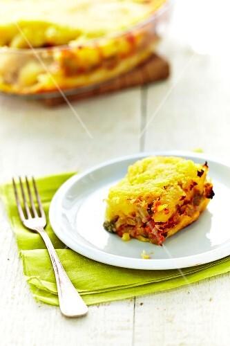 Potato and vegetable bake
