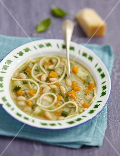 Pesto soup from France
