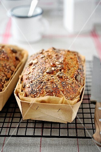 Granary bread loaves
