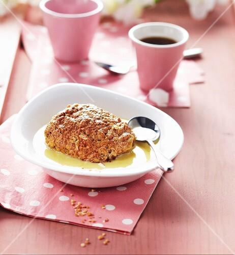 Almond-flavored island