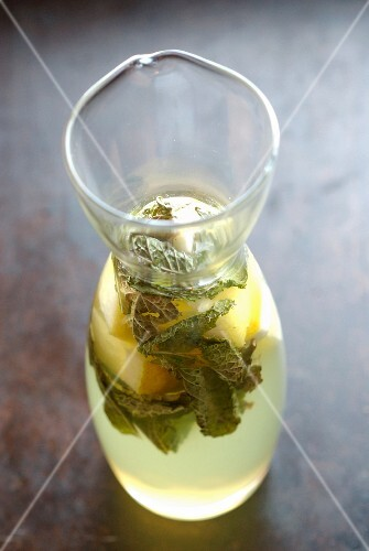 Mint-gentian Toddy