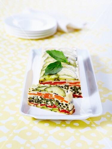 Southern vegetable terrine