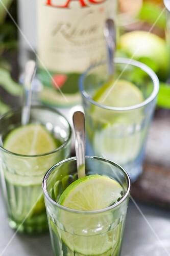 Daiquiri cocktails