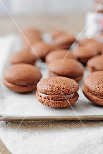 Chocolate whoopies