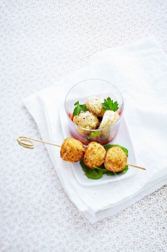 Chicken and parmesan meatballs