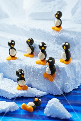 Olive-cheese penguins