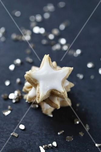 Cinnamon star shortbreads