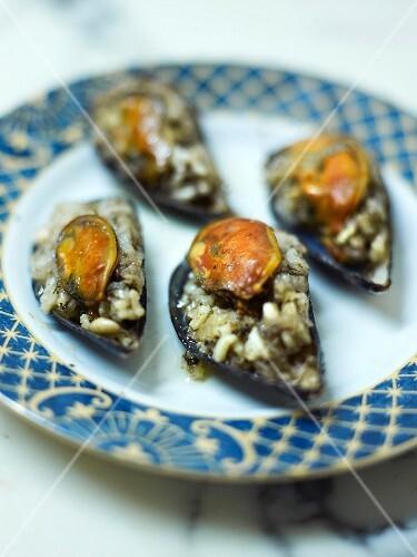 Mussels à la stambouliote