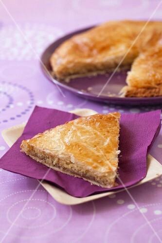 Chestnut cream Galette des rois