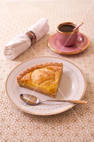 Bourdaloue pear tart