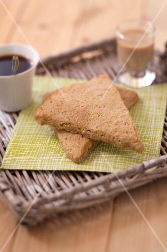 Irish Baileys scones