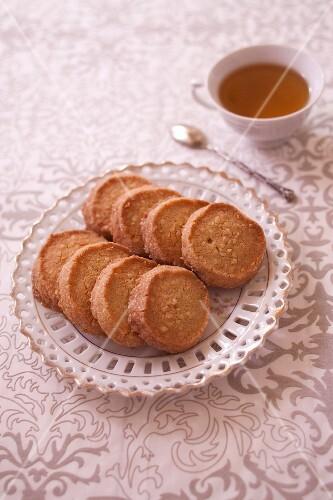 Biscuits aristocrate (Traditionelle Mandelplätzchen, Loiretal)