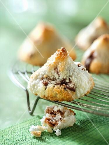 Carambar and coconut Rocher