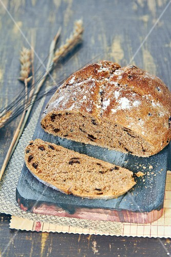 Olive bread loaf
