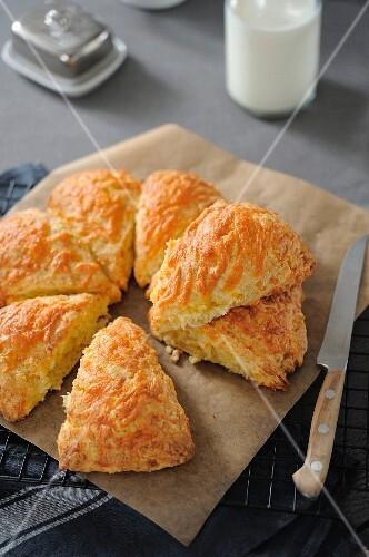 Cheddar scones