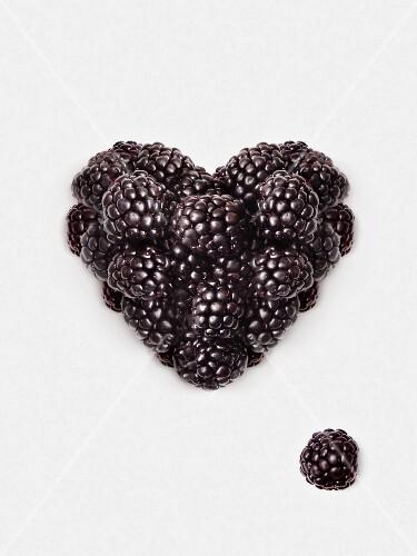 Blackberry heart