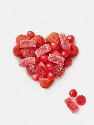Red candy heart