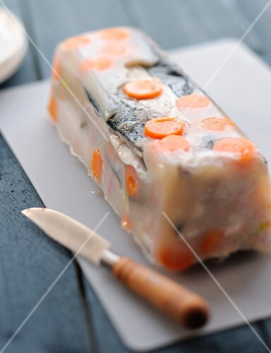 Mackerel terrine