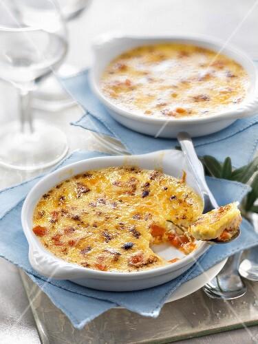 Butternut-rosemary Crème brûlée