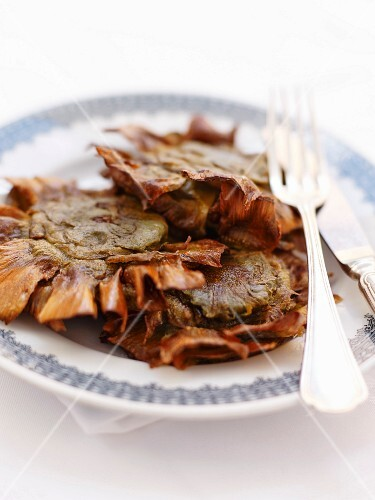 Jewish fried artichokes