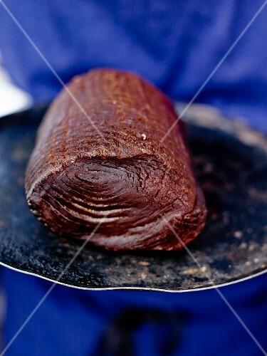 Spicy smoked tuna