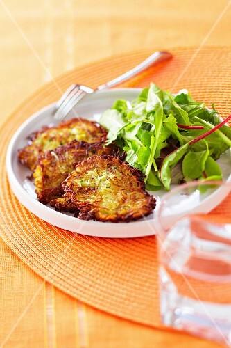 Vegetable Swiss Röstis