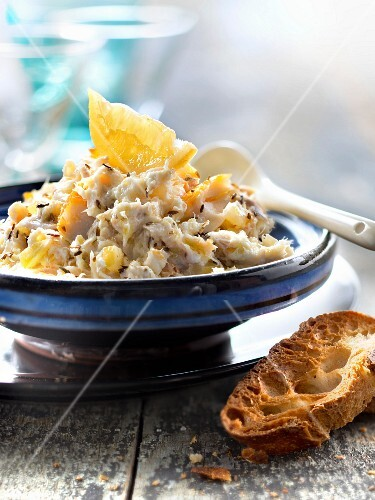 Haddock paté with confit citrus