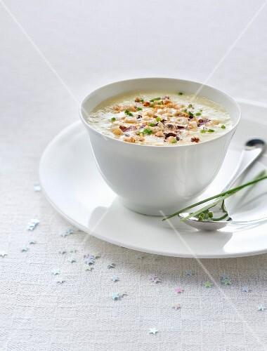 Cream of Jerusalem artichoke soup
