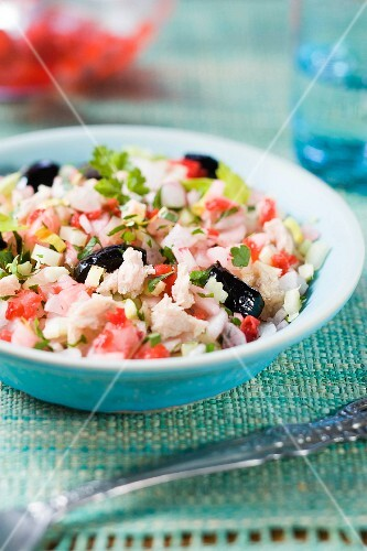 Mixed radish salad