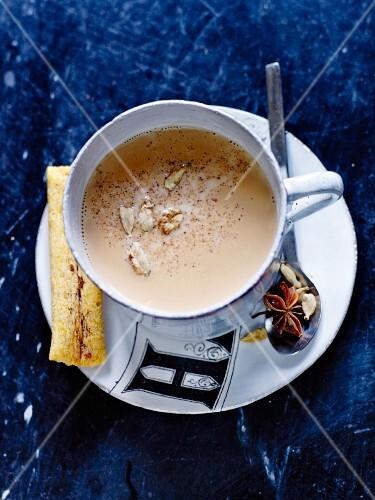 Gluten-free spicy milk tea
