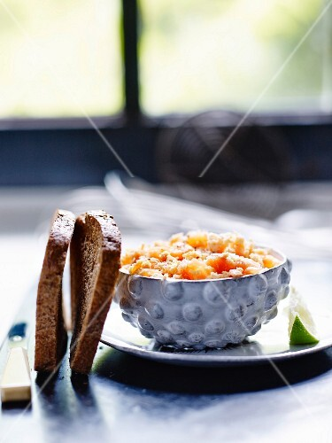 Gluten-free potted salmon