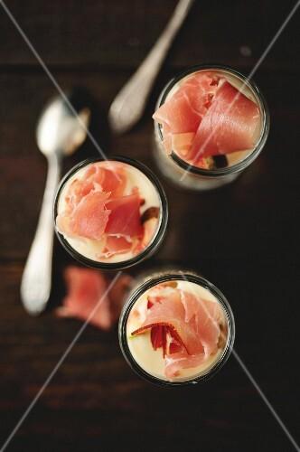 Greek yoghurt appetizer