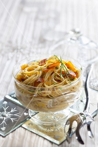 Tagliolinis with poutargue