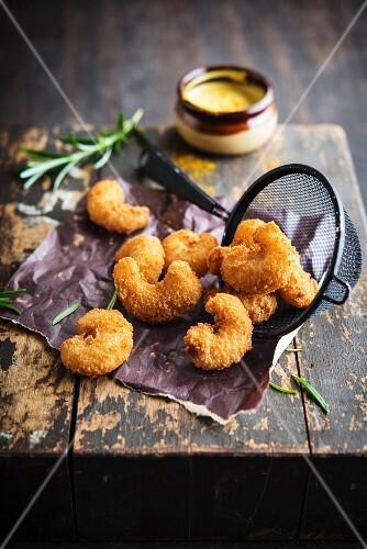Deep fried scampi