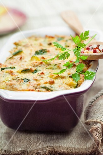 Dill, cheese and herb savory cake