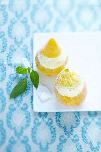 Iced lemons