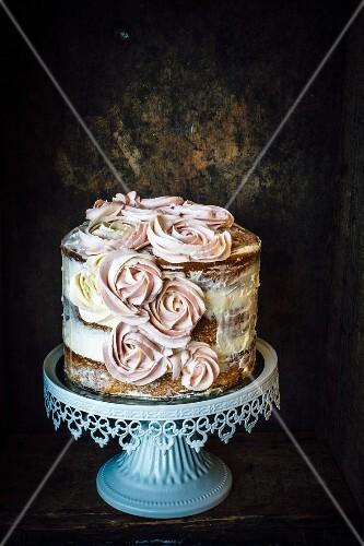 Vanilla Cake With Earl Grey Buttercream