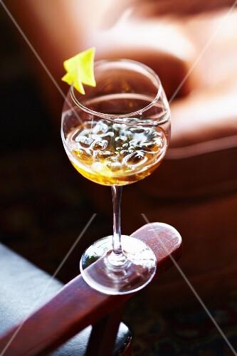 Passion fruit California Dream cocktail