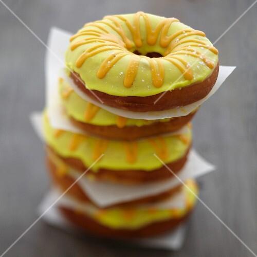 Confit citrus donuts