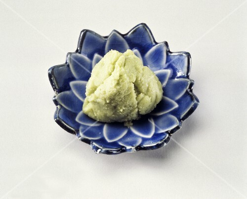 Wasabi Paste on a Dish