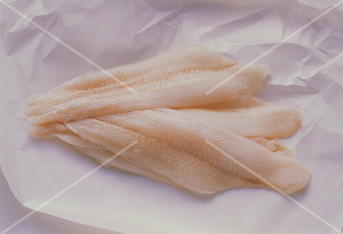 Fresh Sole Fillets on Butcher's Paper