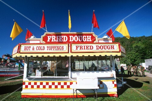 Fried Dough Stand at a Vermont Fair