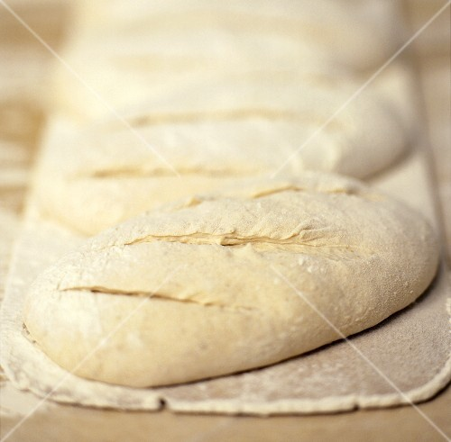 An Uncooked Loaf of Bread