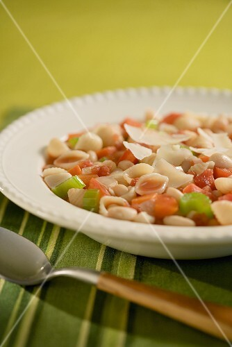 Bowl of Pasta Fagioli