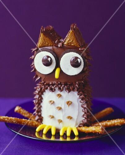 Fun Owl Dessert
