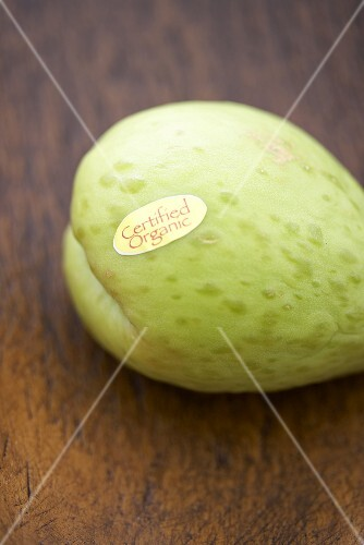 A Single Certified Organic Costa Rican Chayote Squash