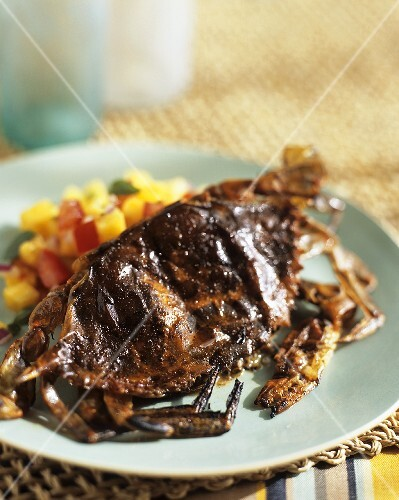 Grilled Soft Shell Crab