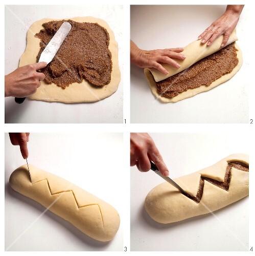 Making sweet almond bread – final recipe image: 004651